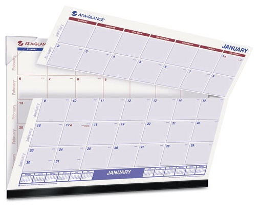 """Looking Forward"" with your NEW Desk Calendar from At-A-Glance®"