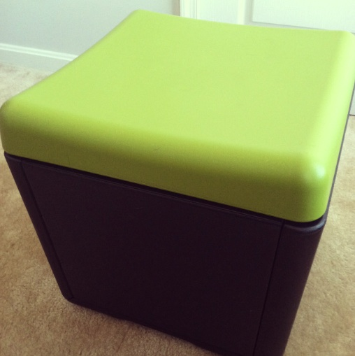 an ottoman for the workplace iceberg the motley guy