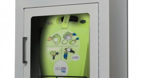 Free AED Wall Cabinet!