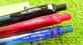 Pentel's Energel-X Pens, Now in Even More Rad Colors!