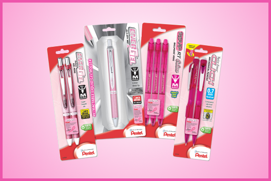 Pentel Breast Cancer Awareness