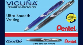 Featuring the New Vicuña                                                      Advanced Ink Ballpoint Pen!