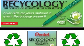 Pentel and Recycology!