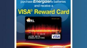 Win a Visa Reward Card!