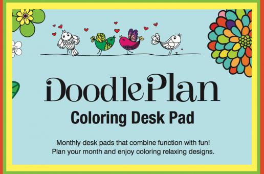Focus & Revitalize with Doodle Time Desk Calendars