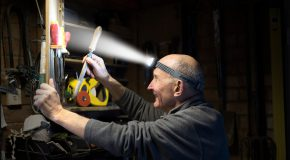 Two Hands are Better than One. Headlamps light the way to smarter working.
