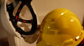 I used my head and figured this out for you: assembling a hard hat