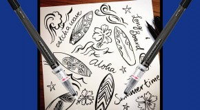 What Can You Do with Pentel's Brush Pens?